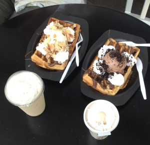 Best coffee and waffles ever!